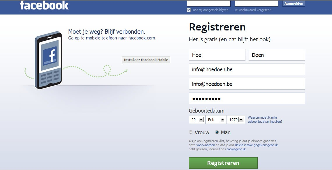 Hoe een tweede facebook account aanmaken 3 stappen - Hoe een kleedkamer aanmaken ...