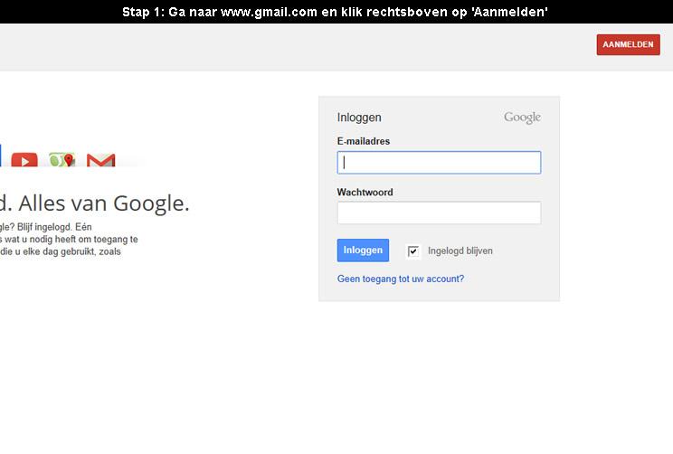 Hoe een gmail account aanmaken 4 stappen met fotos - Hoe een kleedkamer aanmaken ...