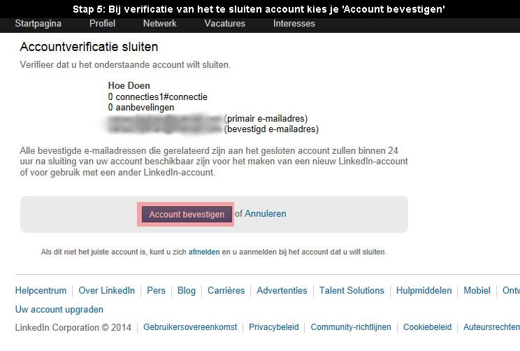 Hoe linkedin account verwijderen? (met fotos)
