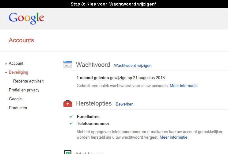 Hoe gmail wachtwoord veranderen 1