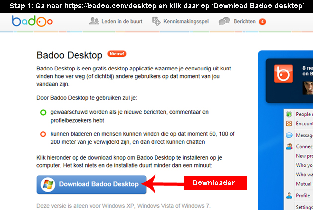 Badoo pc download