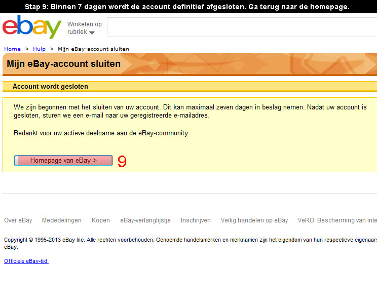 how to change name of account in ebay