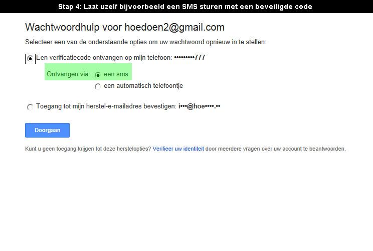 google account wachtwoord vergeten 4 - Hoedoen.be