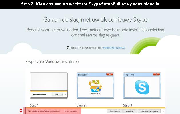 hoe skype downloaden 3
