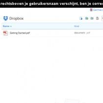 dropbox inloggen 3