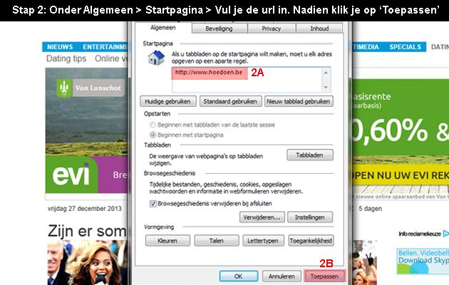 internet edge startpagina