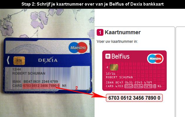 Hoe Online Bankieren Bij Belfius Dexia