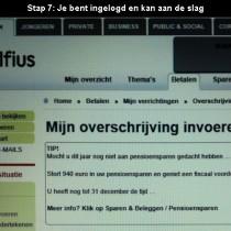 hoe online bankieren bij Belfius 7
