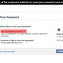 facebook wachtwoord vergeten 3