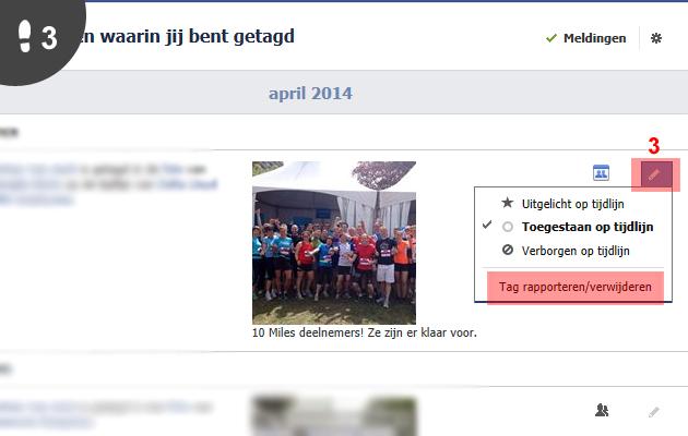 facebook tag verwijderen 3