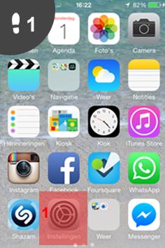 vindt mij iphone uitzetten