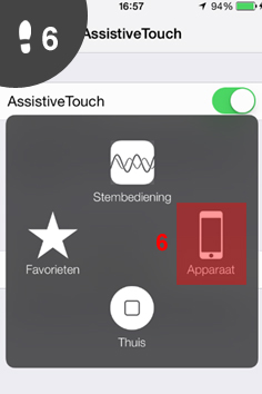 iphone aanzetten zonder knop 6