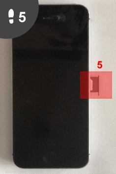 nieuwe simkaart in iphone 5