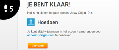 how to connect two origin accounts