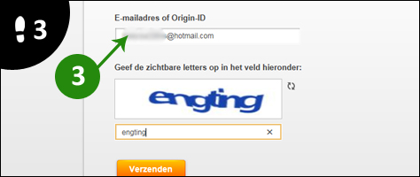 origin wachtwoord vergeten 3