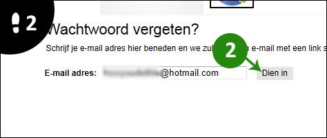 tagged wachtwoord vergeten 2