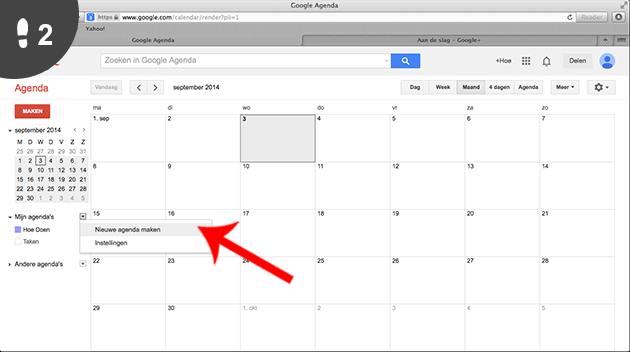 Hoe een nieuwe google agenda aanmaken met foto 39 s - Hoe een kleedkamer aanmaken ...