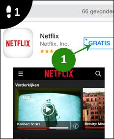netflix op iphone kijken 1
