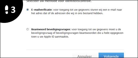 apple id wachtwoord vergeten 3