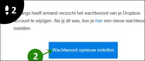 dropbox wachtwoord vergeten 2