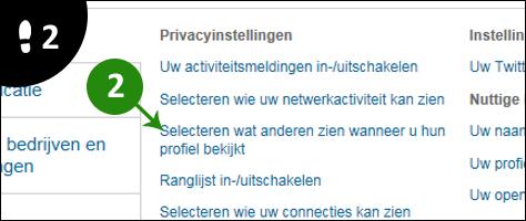 linkedin anoniem gebruiken 2
