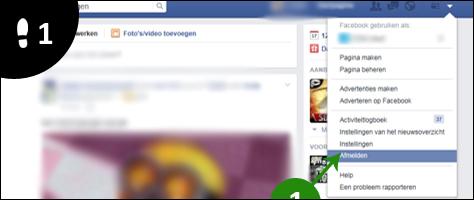tweede facebook account aanmaken 1