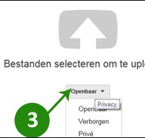 video op youtube zetten 3