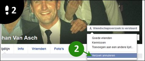 facebook vriendschapsverzoek annuleren 2