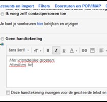 gmail handtekening instellen 3