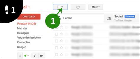 gmail mails verwijderen 1