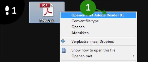 Sneltoetsen voor tekst (Windows)