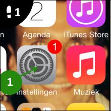 iphone instellingen 1