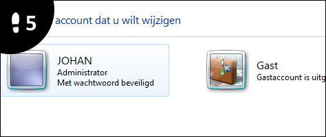windows 7 account verwijderen 5