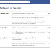 Facebook afmelden account