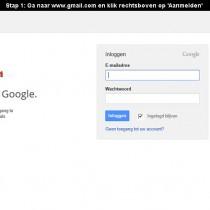 hoe gmail aanmaken 1