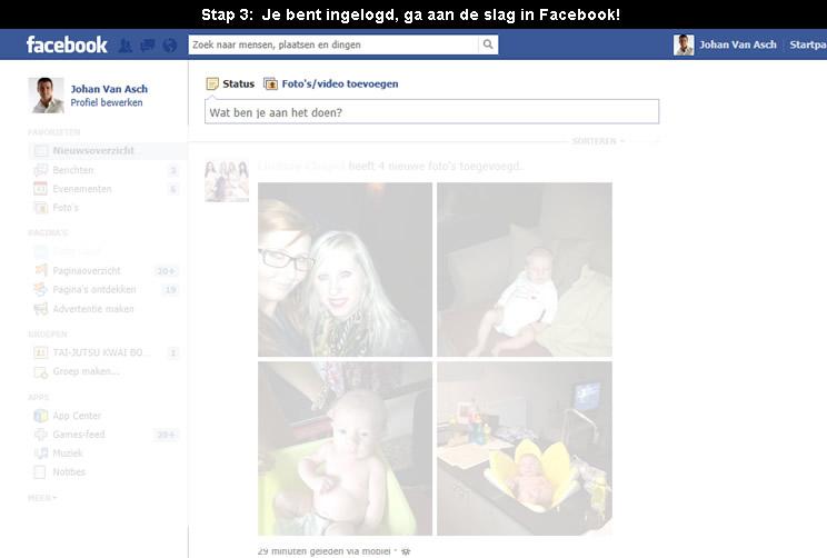 Hoe inloggen op facebook 3