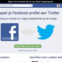 facebook en twitter ontkoppelen 2
