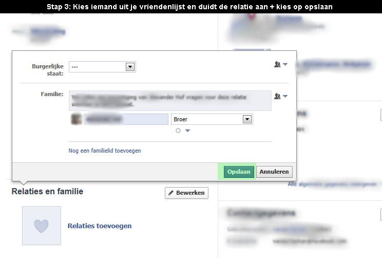 facebook familie aanduiden 3