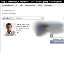 facebook groep verwijderen 1