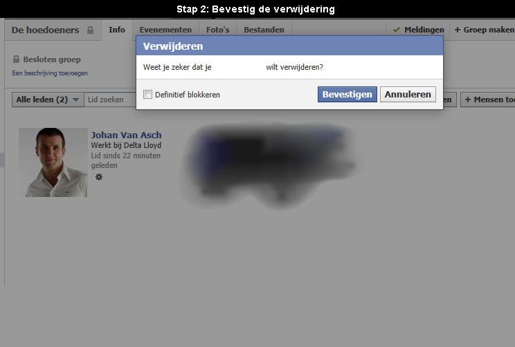 facebook groep verwijderen 2