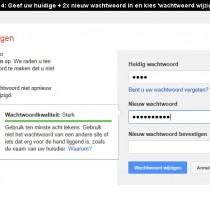 Hoe gmail wachtwoord veranderen 4