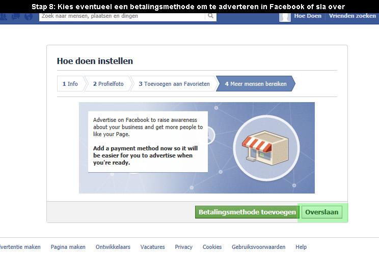 hoe facebook pagina aanmaken 8
