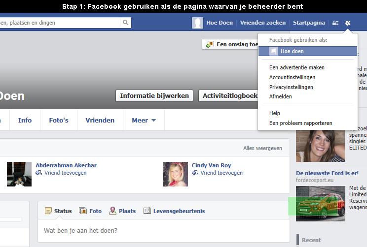 hoe facebook pagina verwijderen 1