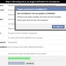 hoe facebook pagina verwijderen 4