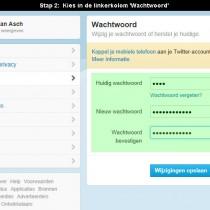 twitter wachtwoord veranderen 3