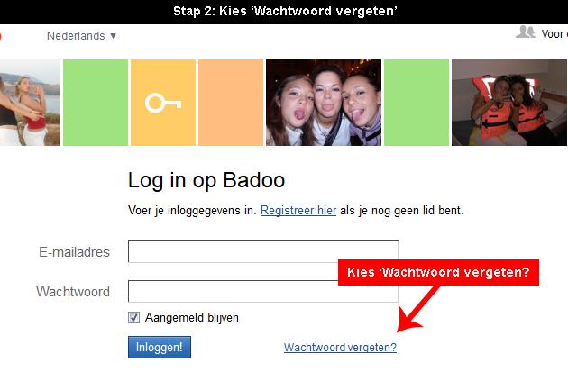 Badoo wachtwoord vergeten 2