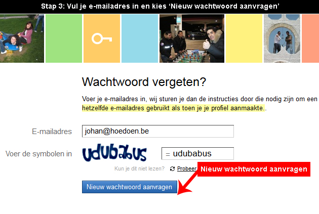 Badoo wachtwoord vergeten 3