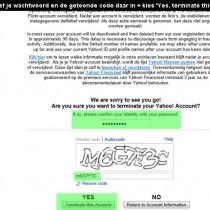 Yahoo account verwijderen 2