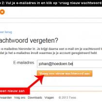 twoo wachtwoord vergeten 2