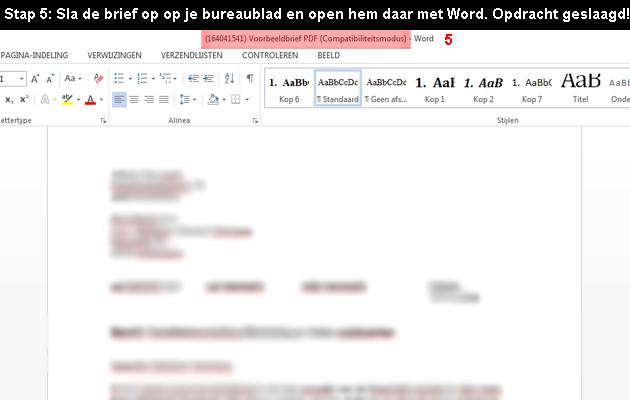 hoe PDF naar word omzetten 5
